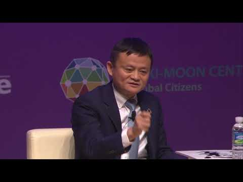 [HD] GEEF: Special Conversation with Jack Ma at Yonsei University BKM