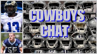 COWBOYS CHAT: Rookies Signed & At Camp; LVE & Gallup Speak; Coaches Lal & Richard; Free Agents +More