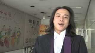 映画「ばななとグローブとジンベエザメ」メイキング映像。 佐藤貢三&高...