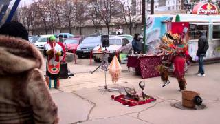 Native Americans in Chisinau!!!