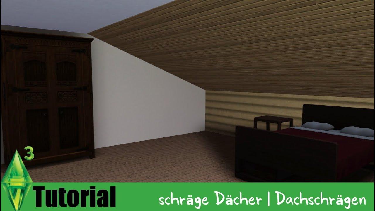 tutorial schr ge d cher dachschr gen youtube. Black Bedroom Furniture Sets. Home Design Ideas