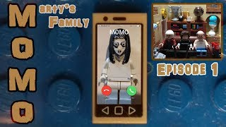 LEGO MOMO horror STOP MOTION ANIMATION