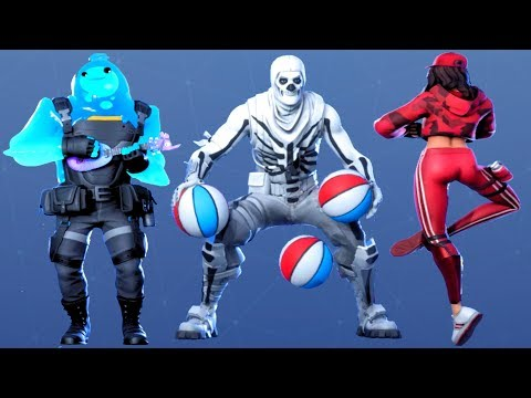 Fortnite All Dances Season 1-11 Updated To Ballsy