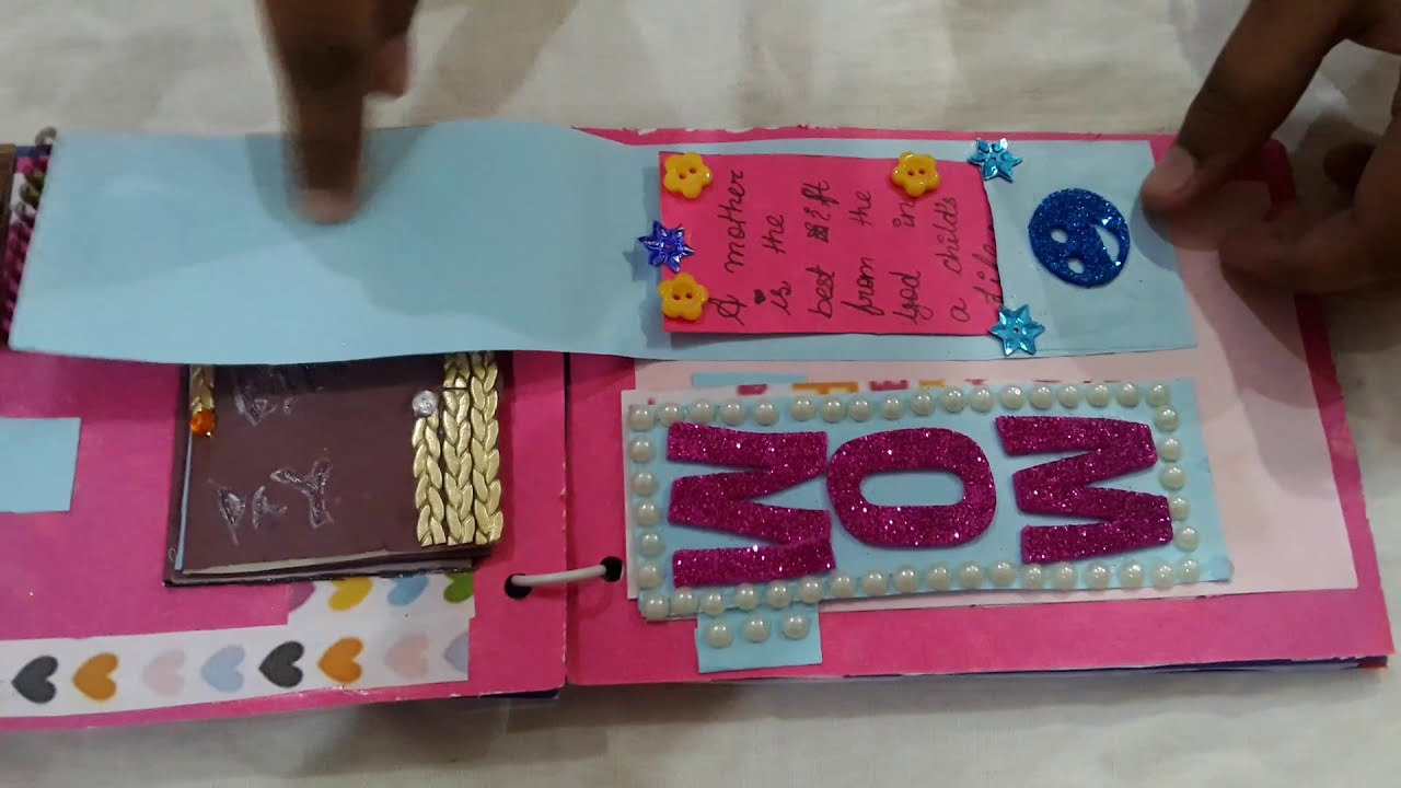 Moms Birthday Card Ideas Youtube