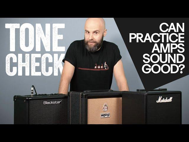 Practice Amp Tone Check! Orange Crush 20RT, Blackstar ID:CORE 20 v3, Marshall CODE25