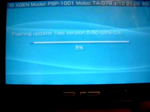 flash psp 5.50 gen-d3