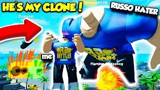 I Found A RussoPlays CLONE Who Was Actually A HATER... Here's What I Did (Roblox)