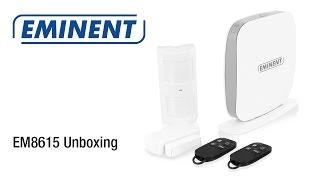 EM8615 WiFi/SMS/GSM Alarmsysteem (Unboxing & Installatie)