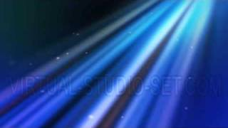 Blinding Heavenly Light Loop with animated stars royalty free background