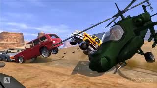 GTA San Andreas   Трюки, Аварии и Приколы! На движке GTA 4
