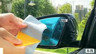 Water membrane for Car Rear View Mirror (Nano coating protective film, anti water mist, rainproof)