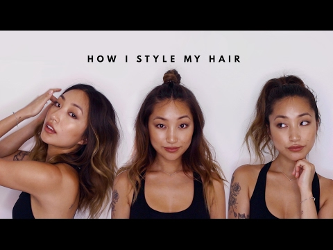 HOW I STYLE MY HAIR | dahyeshka
