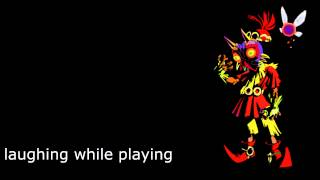zelda majoras mask skull kid sounds