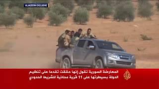 الجيش الحر يطلق عملية بدعم تركي غرب جرابلس