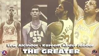 ALCINDOR JABBAR THE GREATER