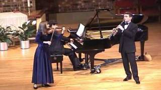 Aram Khachaturian Trio for clarinet, violin and piano - 2nd movement: Allegro