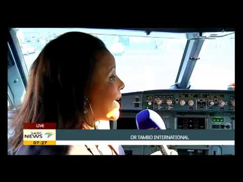 First female black pilot in SA