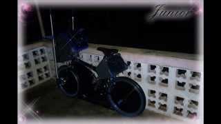 Bicicleta modificada  (una de las mejore...