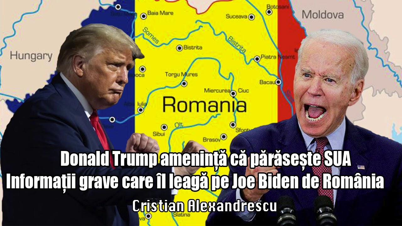 Donald Trump Ameninta Ca Paraseste Sua - Informatii Grave Care IL Leaga Pe Joe Biden De Romania