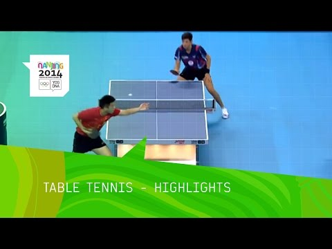 Men's And Women's Table Tennis - Highlights | Nanjing 2014 Youth Olympic Games
