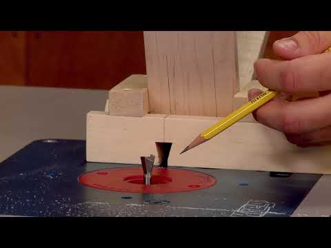 Making Dovetail Keys at the Router Table