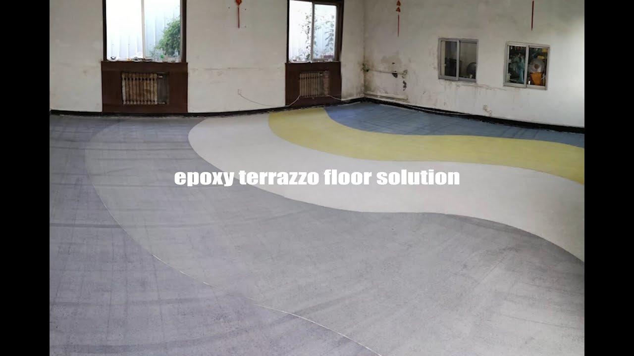 Raizi Epoxy Terrazzo Flooring Solution