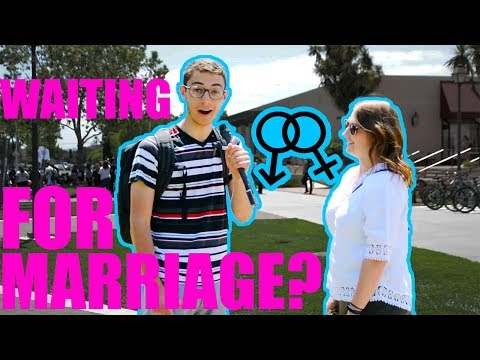 Asking College Students If They Are Waiting Until Marriage thumbnail