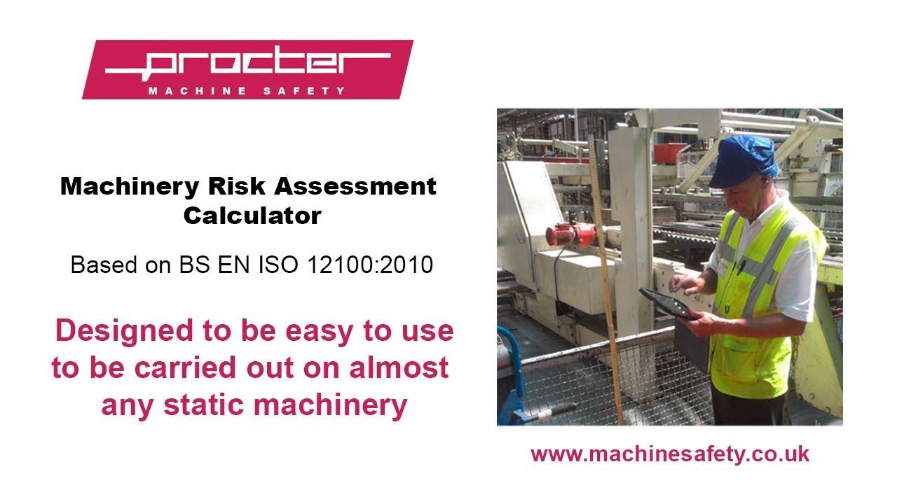 machine guarding safety distance calculator