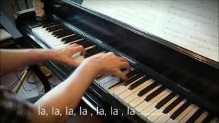 Tombe la neige (Adamo).  Piano et arrangements : André Caron