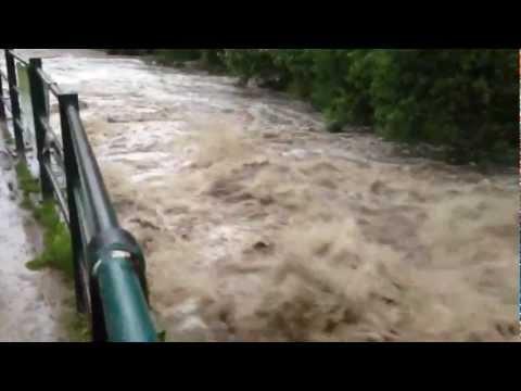 River irwell flood bury 20012  3
