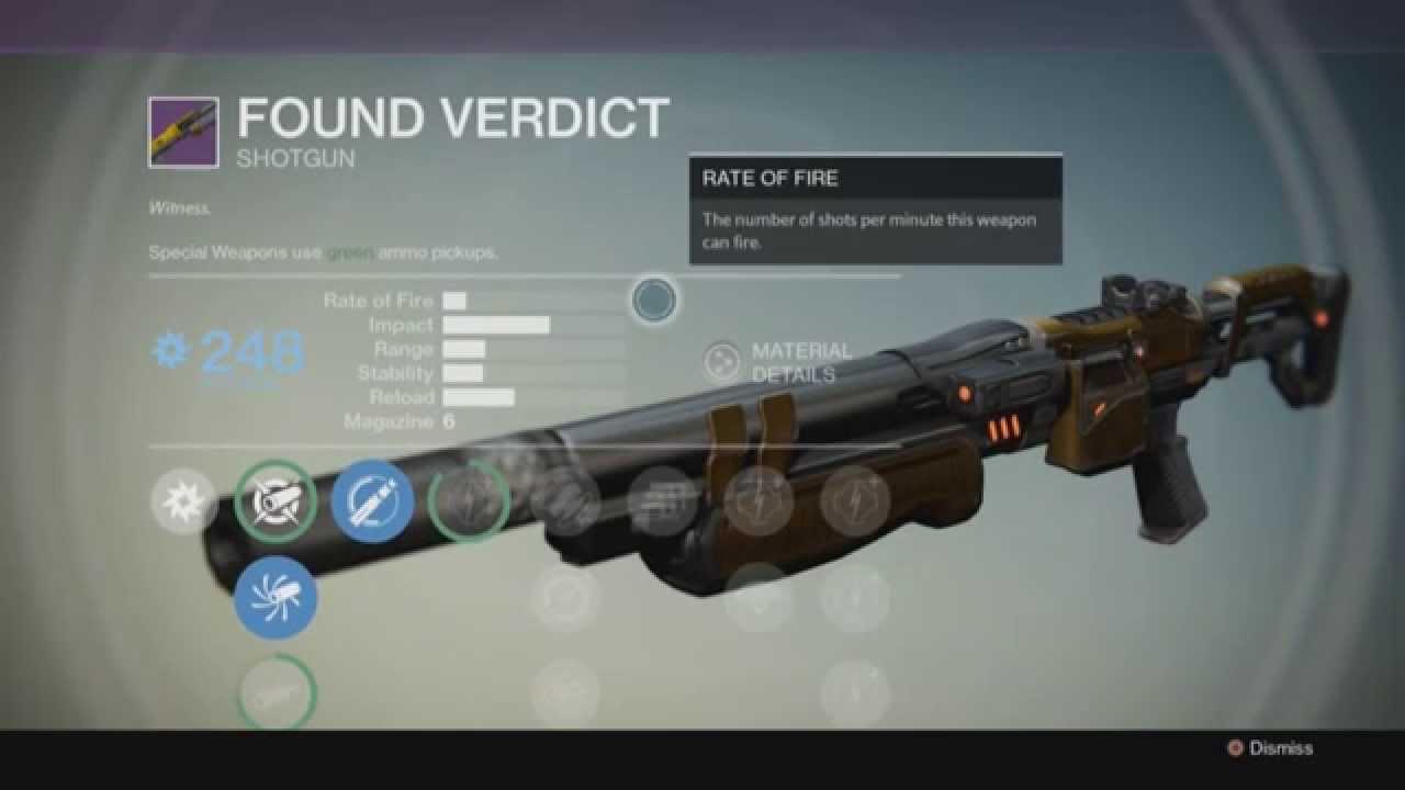 Invective shotgun vs. Found Verdict shotgun - Destiny ...