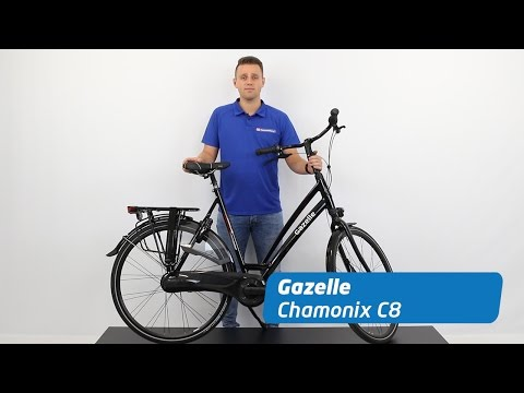 Welp Gazelle Chamonix C8 Review   Stadsfiets - YouTube AZ-34