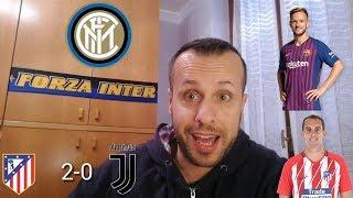 INTER: RAKITIC E GODIN... ATLETICO MADRID-JUVE 2-0