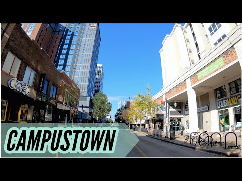 UIUC Campustown Walk - Champaign, IL (4k60)