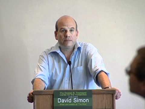 """David Simon: """"The Audacity of Despair"""""""