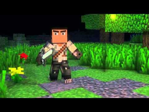 ''Where My Diamonds Hide''  - A Minecraft Parody of Imagine Dragon's Demons (Music Video)