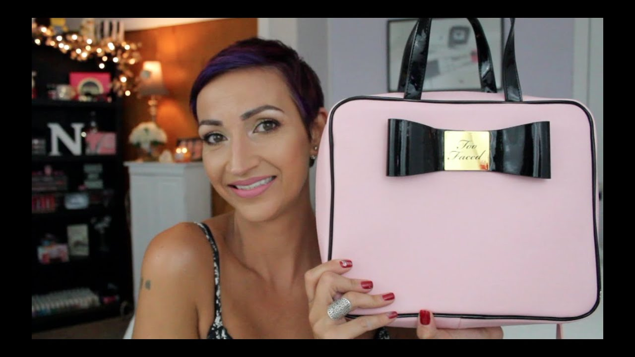 Too Faced Makeup Bag - Mugeek Vidalondon