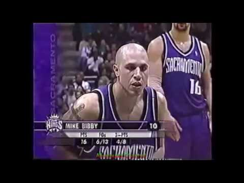 Mike Bibby 24 Pts 11 Ast @ Milwaukee, 2003-04.