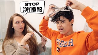 Copying EVERYTHING My Girlfriend Does For 24 Hours! Video