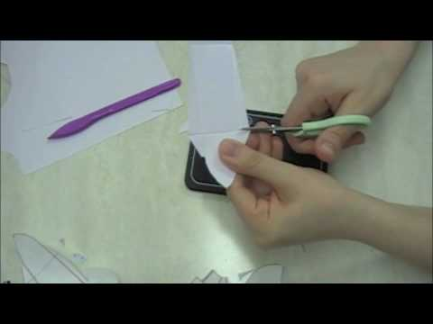 3 Dimensional Paper Shoe