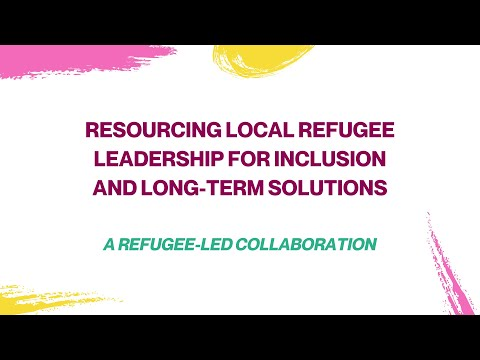 Resourcing Refugee Leadership Initiative