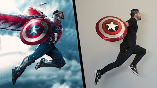 The Falcon and the Winter Soldier Stunts In Real Life (Marvel)