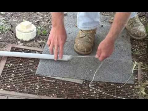 Vaccuming A String Through A Pipe Youtube