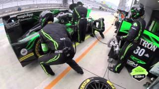 Pit Stop from Tequila Patron ESM Helmet Cam
