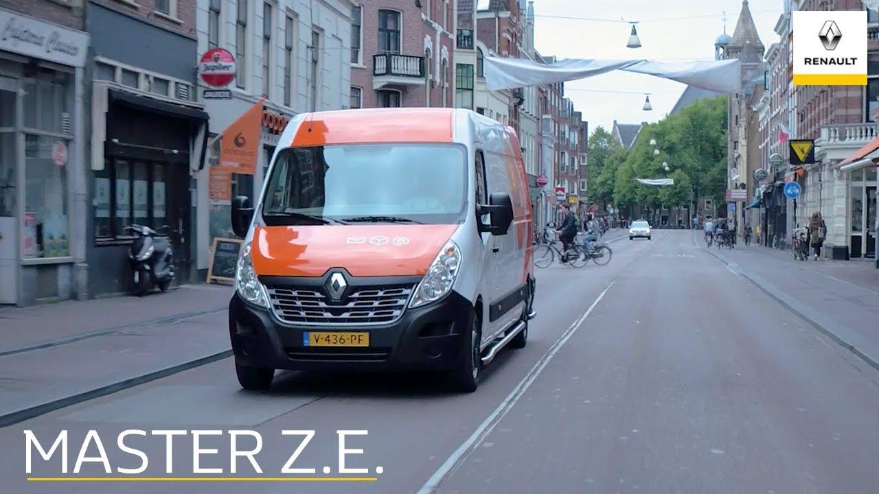 De Renault Master Z E Eduard Veen Over Elektrische Bedrijfswagens