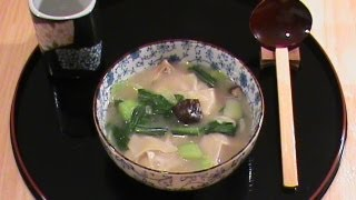 Wonton Soup  -- Chinese New Year Special Series Presented By Chinese Home Cooking Weeknight Show