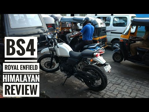 2017 Royal Enfield Himalayan FI BS4 Full Review (Hindi) First Ride Impression | Comparison