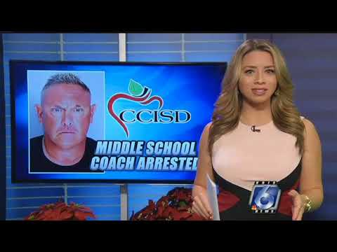 CCISD coach arrested, charged with possession of steroids