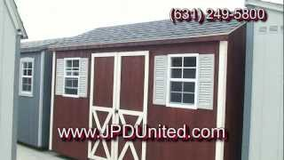 Shed Video 5 -- The Gable Shed -- Farmingdale New York (ny) Jpd United