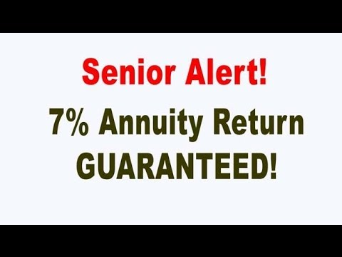 Fixed Index Annuity Guaranteed 7% Return A LIE!
